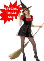 Deguisement D�guisement Ado Sorci�re Halloween Enfants