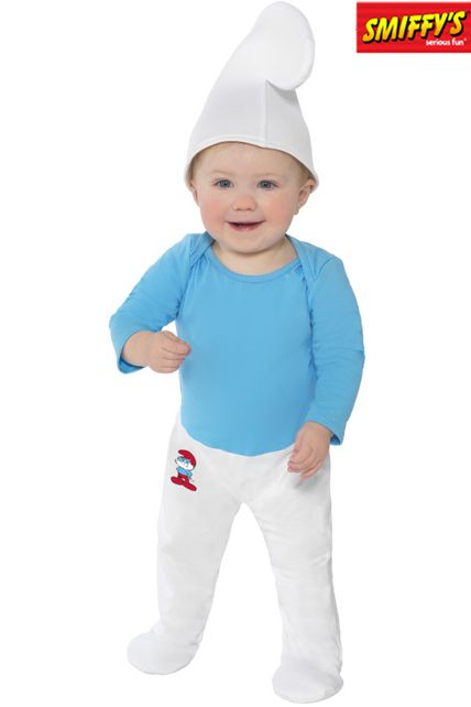 Bébés Schtroumpf Deguisement Bébé Body Enfant Le m80wnN