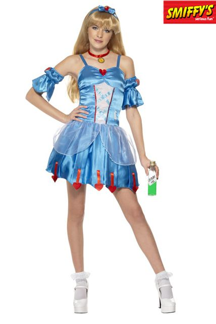 D guisement alice - Deguisement halloween ado ...