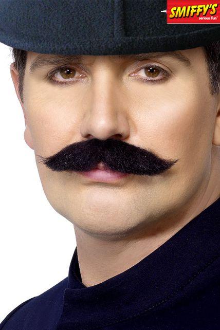 moustache policier anglais maquillage barbes moustaches le. Black Bedroom Furniture Sets. Home Design Ideas