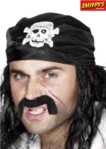 Deguisement Bandana Pirate Noir
