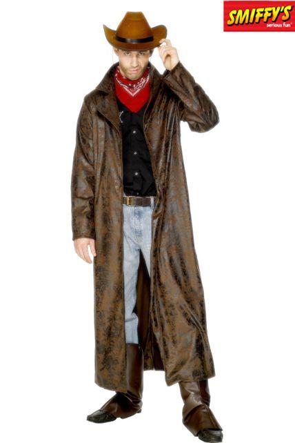 manteau de cowboyguisement adulte homme le. Black Bedroom Furniture Sets. Home Design Ideas