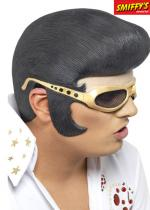 Deguisement Masque Elvis Lunette Or