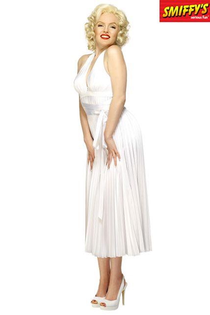 Robe Marilyn Monroe Luxe Hq Deguisement Adulte Femme Le Deguisement Com