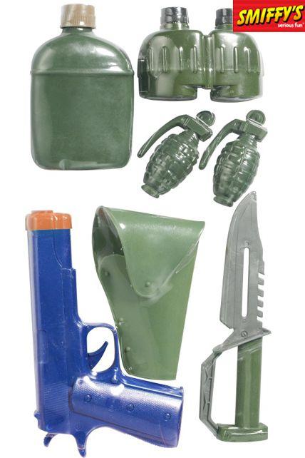 new cheap fashion new images of Set Accessoires Commando - Accessoires Héros De Guerre Armes ...