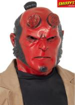 Deguisement Masque de Hellboy Latex