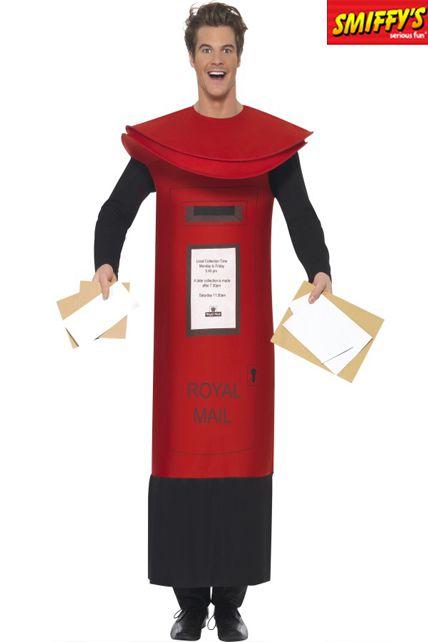 Hot Un Stock >> Deguisement Boite Lettres - Deguisement Adulte Homme Le Deguisement.com