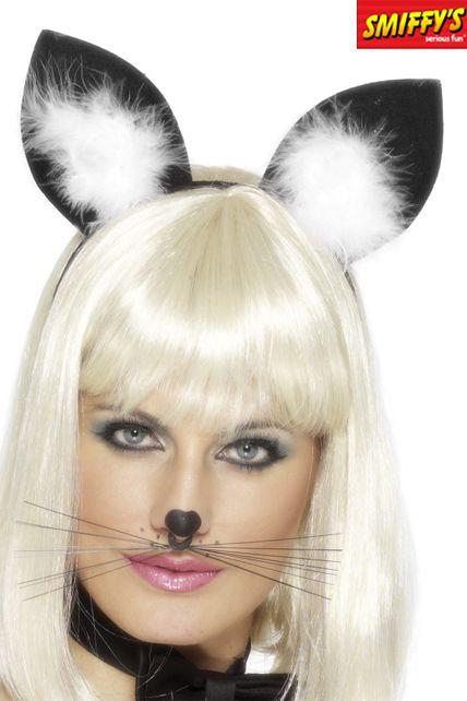 Serre t te oreille de chat chapeau serres t tes le - Oreille de chat serre tete ...
