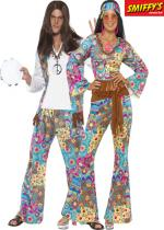 Deguisement Couple Groovy Hippie En Couple