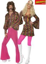 Deguisement Couple Hippie Flower En Couple