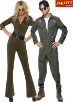 Deguisement Couple Top Gun