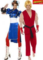 Deguisement Couple Street Fighter
