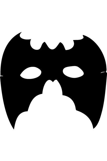 Loup chauve souris eva masques loups le - Masque chauve souris a imprimer ...