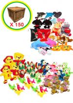 Deguisement LOT DE 150 PELUCHES Peluche