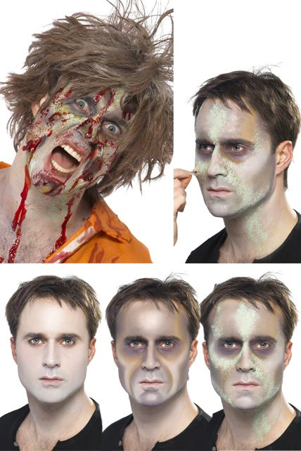 Kit maquillage zombie maquillage halloween le - Maquillage zombie enfant ...