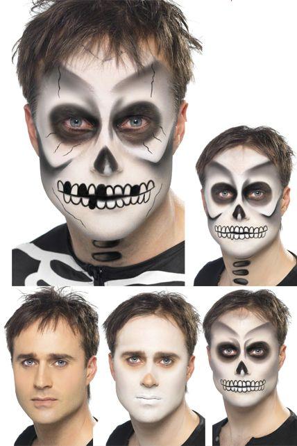 Maquillage Halloween Squelette Moiti Visage Les Meilleurs Tutos