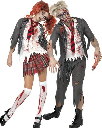 couple de deguisement de zombie original le. Black Bedroom Furniture Sets. Home Design Ideas