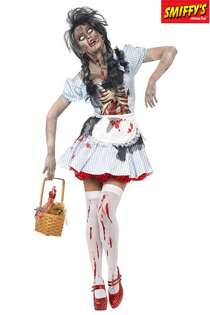 Deguisement femme zombie deguisement adulte sp cial halloween le - Deguisement halloween adulte ...