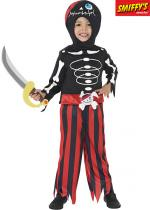 Deguisement Squelette Pirate Halloween Enfants