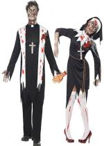 Deguisement Couple Zombie Religion En Couple