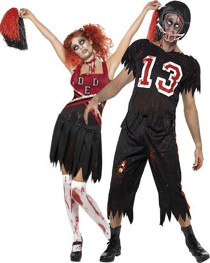 couple zombie sport us deguisement adulte en couple le. Black Bedroom Furniture Sets. Home Design Ideas
