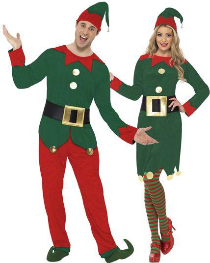 couple elfe vert deguisement adulte en couple le. Black Bedroom Furniture Sets. Home Design Ideas