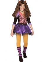 Deguisement Monster High Clawdeen Wolf Héros