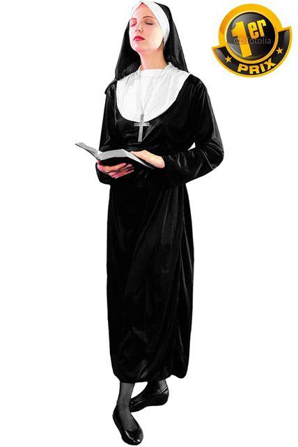 deguisement nonne bonne soeur religieuse 1er prix le. Black Bedroom Furniture Sets. Home Design Ideas