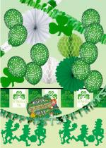 Deguisement Kit D�coration Saint Patrick Vitrine