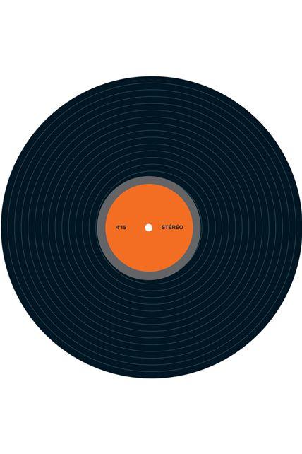 Decor disque vinyl 30cm le - Decoration disque vinyle ...