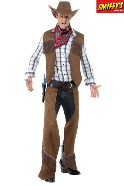 D guisement cowboy de l ouest d guisement adulte le - Deguisement western homme ...