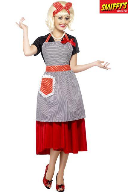 Kit femme au foyer ann es 50 d guisement adulte le for Femme au foyer 1960