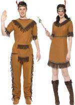 Deguisement Couple Tribu Sioux En Couple