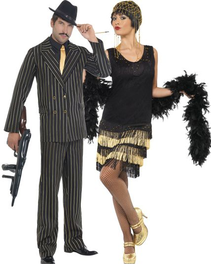 couple ambiance 1920 deguisement adulte en couple le. Black Bedroom Furniture Sets. Home Design Ideas