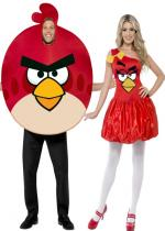 Deguisement Couple Angry Birds