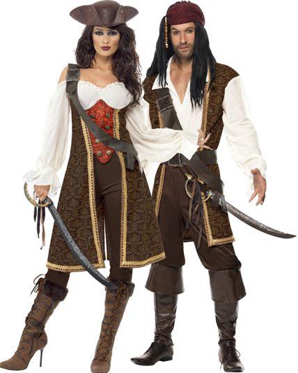 couple pirate haute mers deguisement adulte en couple le. Black Bedroom Furniture Sets. Home Design Ideas