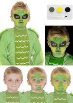 Deguisement Kit De Peinture Alien Maquillage Halloween