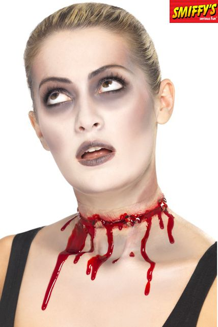 Cicatrice sanglante maquillage halloween le - Maquillage halloween cicatrice ...