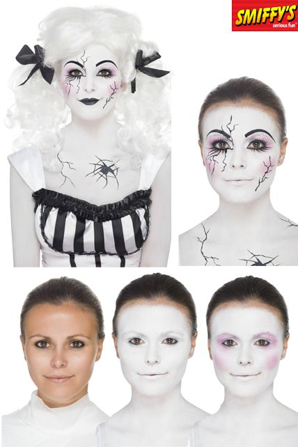 Kit maquillage poup e morte maquillage halloween le - Maquillage poupee halloween ...