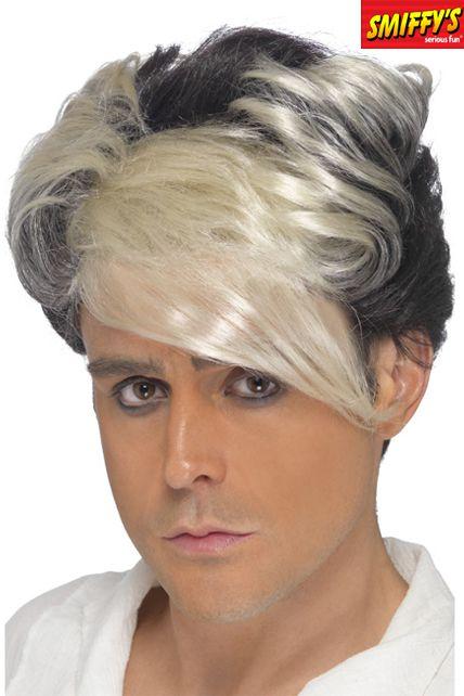 Une perruque ann es 80 pour homme avec m che le - Meche homme caramel ...