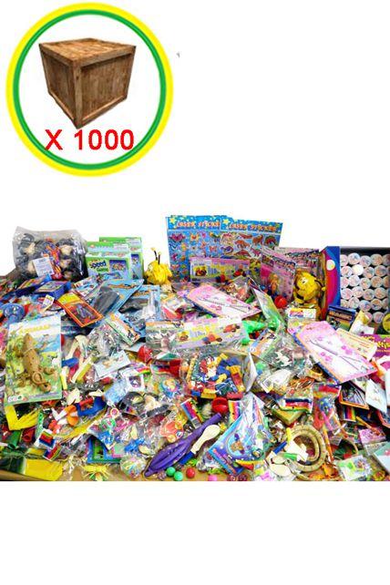 Lot De 1000 Etiquettes Prix Ficelle Blanche 3 Tailles: Lot De 1000 Jouets à Petit Prix Le Deguisement.com