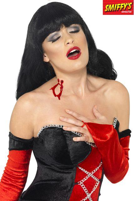 Cicatrice morsure de vampire dracula maquillage halloween le - Maquillage halloween cicatrice ...