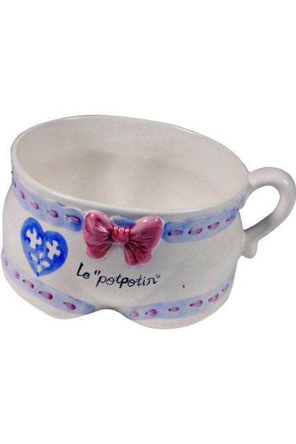 Pot de chambre mariee popotin le for Pot de chambre adulte