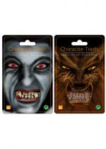 Deguisement Dents D'Horreur Pvc Maquillage Halloween
