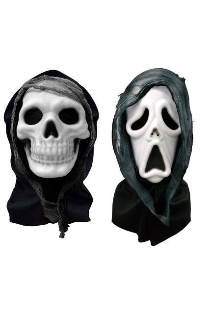 masque horreur en eva avec cagoule et gaze 2 modeles ass le. Black Bedroom Furniture Sets. Home Design Ideas
