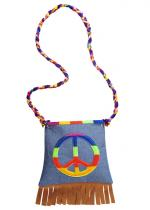 Deguisement Sac Hippie Peace And Love