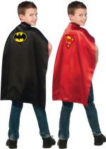 Deguisement Cape Réversible Batman Superman