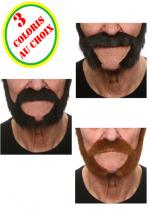 Deguisement Barbe Luxe Johnny Barbes et Moustaches