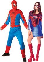 Deguisement Couple Spiderman