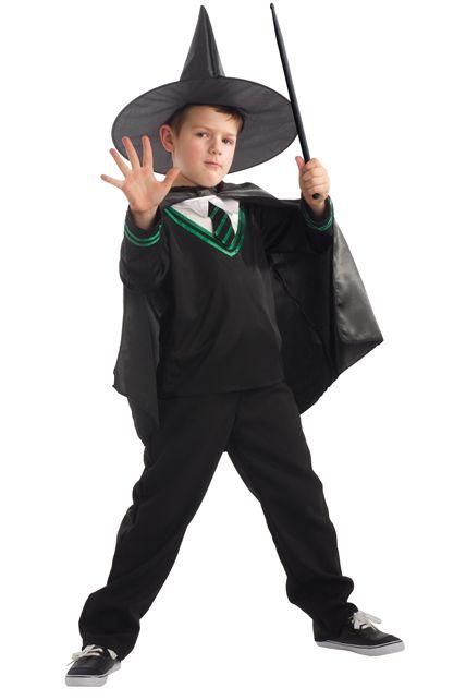Un d guisement de sorcier pour gar on le - Deguisement halloween enfant garcon ...